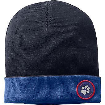 Jack Wolfskin Boys & Girls Paw Rib Acrylic Yarn Winter Knit Hat