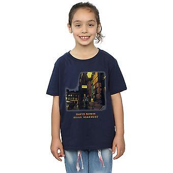 David Bowie dievčatá Ziggy Stardust tričko