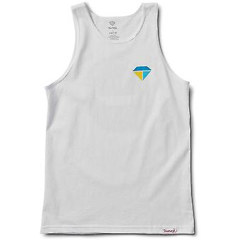 Diamond Supply Co Bolts And Boats Tank White