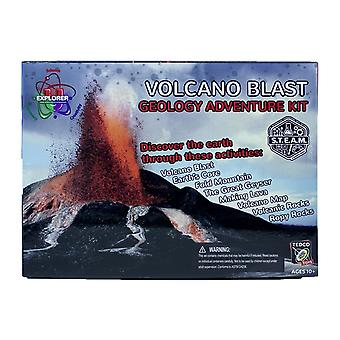 Explosión de volcán Explorer-U