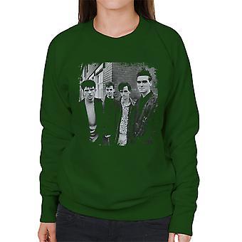 The Smiths Salford Lads Club Shoot Street Shot 1985 Women's Sweatshirt