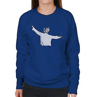 John Lydon Johnny Rotten Manchester Apollo 1986 Women's Sweatshirt