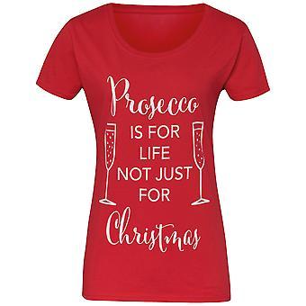 Рождественский магазин Мужская/Женская Просекко предназначен для жизни не только Рождество футболку