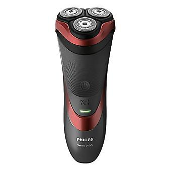 Philips Series 3000 Wet & uscat Men s electric Shaver cu pop-up trimmer (2-pini UK baie mufă)-S3580/06