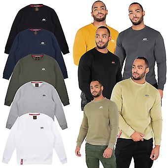 Base petit logo de alpha industries homme sweatshirt