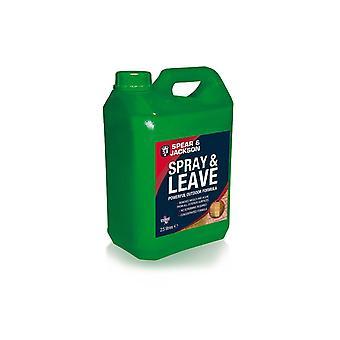 Spray and Leave Concentrate 2.5L S&J  Mould, Algae Remover and Lichen Remover