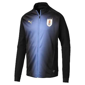 2018-2019 Uruguay Puma Stadium Jacket (Black)