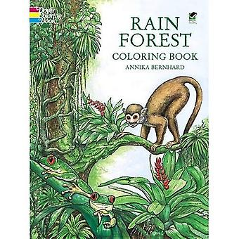Forêt tropicale Coloring Book (Color Your World)