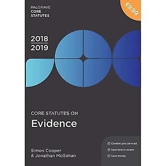 Estatutos de base en evidencia 2018-19 (Palgrave núcleo estatutos)