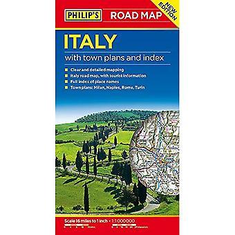 フィリップのイタリアの道路地図