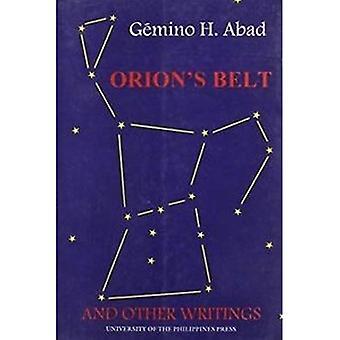 Orion-Gürtel und andere Schriften (philippinischer Schriftsteller Serie)