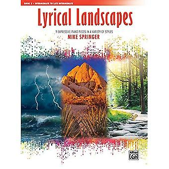 Lyriske landskap, Bk 3:9 uttrykksfulle pianostykker i en rekke stiler (lyriske landskap)