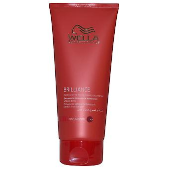 Wella Professionals Brilliance Conditioner 200ml for Fine to Normal Colored Hair
