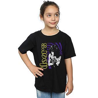De deuren meisjes Retro punt T-Shirt