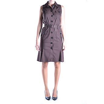 Love Moschino Ezbc061002 Women's Brown Cotton Dress