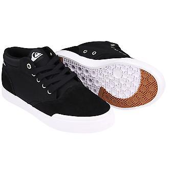 Quiksilver Mens Verant Mid-Top Shoess - Black/White