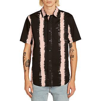 Volcom fade dit S/S shirt met korte mouwen in licht mauve