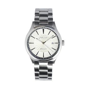 J. Brackett Navigli Bracelet Watch w/Date - Silver