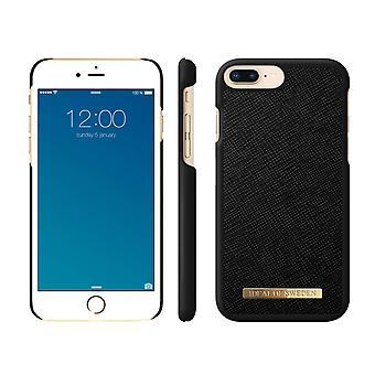 iDeal de Suecia iPhone 8/7/6 Plus Saffiano Shell-Black
