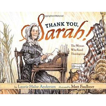 Thank You - Sarah! - The Woman Who Saved Thanksgiving by Anderson - La