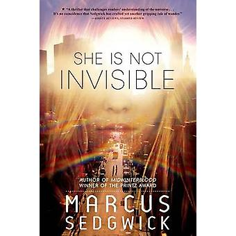 She Is Not Invisible by Marcus Sedgwick - 9781250056986 Book