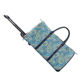 Paisley travel pull holdall by signare tapestry / pull-pais
