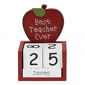 Widdop Gifts Best Teacher Ever Calendar
