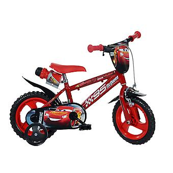 DINO Bikes Cars 3 12inch Bicycle