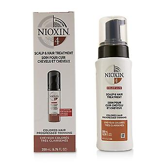 Nioxin Diameter System 4 Scalp & Hair Treatment (colored Hair Progressed Thinning Color Safe) - 200ml/6.76oz