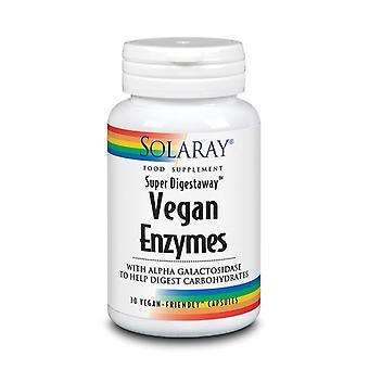 Solaray Vegan Enzymes Capsules 30 (1277)
