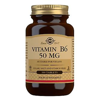 Solgar Witamina B6 50mg Tabletki 100 (3100)