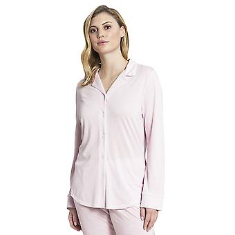 Rosch 1193717-14706 Donne's Pure Pink Minimal Print Cotton Pyjama Top