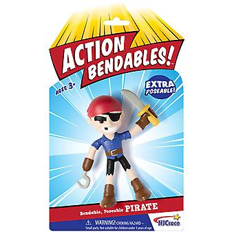 Action Figures - Pirate - Bendable 4