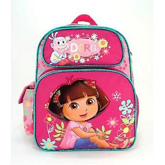 Small Backpack - Dora the Explorer - w/Boots Flower School Bag 635671