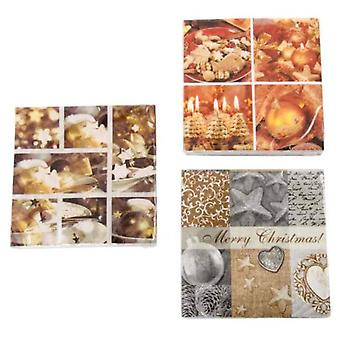Wellindal Paper Napkins September 20 Double Layer 3 Models
