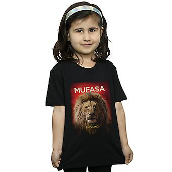 Disney Girls The Lion King Movie Mufasa Poster T-Shirt