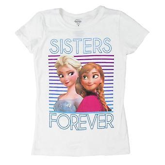 Disney congelados irmãs para sempre meninas 7-16 t-Shirt