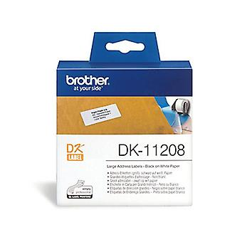 Brother DK11208 White Label 400 Per Roll