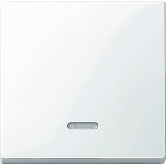 Merten cover Control schakelaar systeem M Polar White glossy 436019