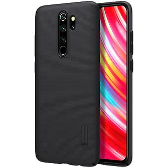 NILLKIN Xiaomi Note 8 Pro frosted shell hard-black