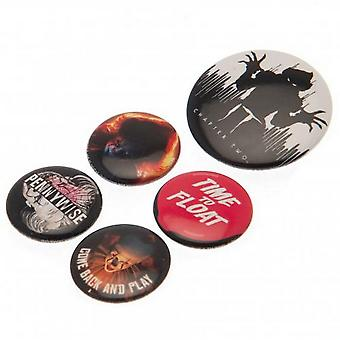 IT Chapter Two Button Badge Set (Pack of 6)