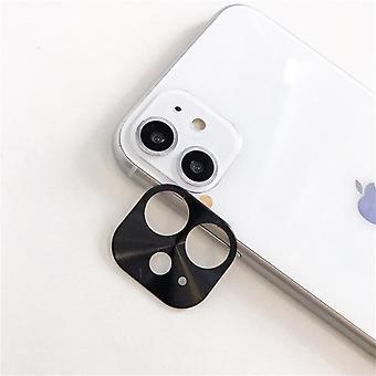 iPhone 11 Puzdro Čierny fotoaparát objektív chránič - Metal