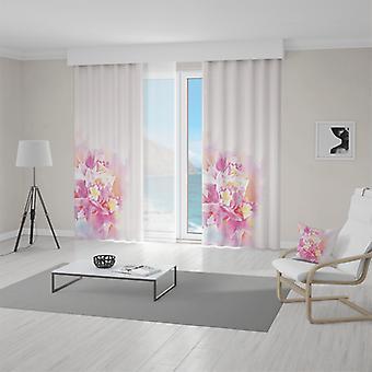 Meesoz Vorhänge - Abstract Flower