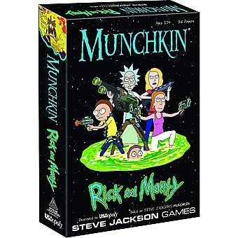Munchkin Rick and Morty Board Game