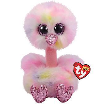 TY 36469 Avery struisvogel medium Boo zacht stuk speelgoed