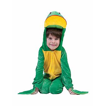 Frog Children's Costume Toad Frog Costume Kids Carnival Animal Costume