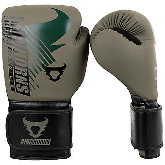 Ringhorns Charger MX Boxing Gloves Khaki/Black