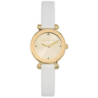 Watch Ted Lapidus SIGNATURE A0680PTPF - leather round woman