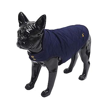 Rosewood Joules Navy Quilted Coat Extra Large for Dogs