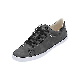 Esprit MIANA LACE UP Women's Sneaker Black Turn Shoes Sport Running Shoes